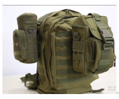 Outdoor Molle Tactical Camouflage Military Backpack With Zipper