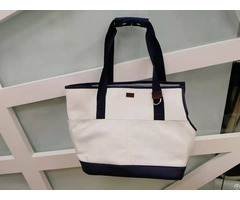 Travel Pet Carrier Canvas Tote Bag