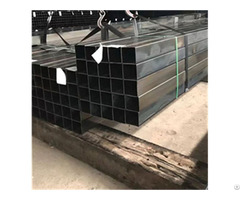 Erw Mild Steel Hot Rolled Black Welded Square Structural Hollow Section Shape