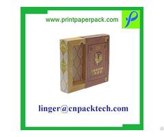 Exquisite Customized Cosmetic Perfume Paper Favor Box