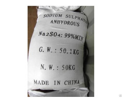 Sodium Sulphate Anhydrous High Quality