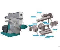 High Quality Ring Die Wood Pellet Machine On Sale