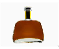Beautiful Glass Empty Bottlety Brandy Bottle