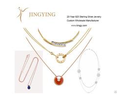 Sterling Silver Earrings Fine Jewelry Custom Oem Manufacturer