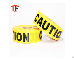 Best Factory Price Pe Material Colorful Non Adhesive Caution Tape