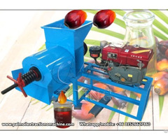 Small Scale Screw Palm Oil Press Expeller Machine
