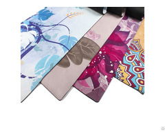 Suede And Rubber Yoga Mat Kmr03