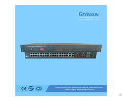Fiber Optic 2 Protection Multiplexer Zmux 3036s2