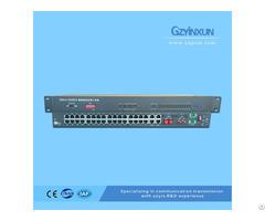 Fiber E1 Back Up Protection Multiplexer Zmux 3036es
