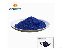 Nolifrit Royal Blue Cover Coat Enamel Frit Ecf 309