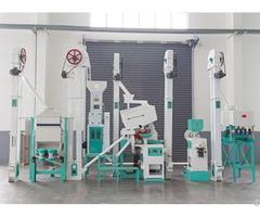 25ton Day Paddy Rice Milling Machine Plant