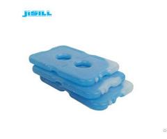 Oem Odm Freezer Cool Packs Cooling Gel Pack Transparent White With Blue Liquid