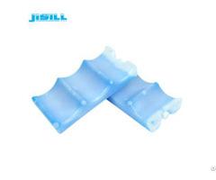 Hdpe Hard Shell Breast Milk Ice Pack Wave Shape 450ml High Density