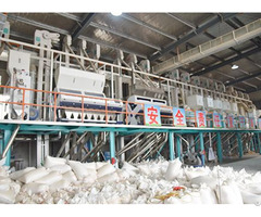 100ton Day Automatic Rice Mill Production Line