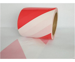 White Underground Detectable Pe Warning Tape With No Adhesive