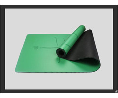 Custom Design Pu Top Rubber Yoga Mats Manufacturer