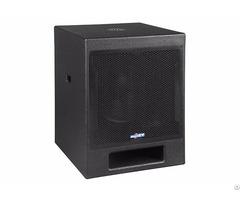 Powered Subwoofer Loudspeaker Vc12be