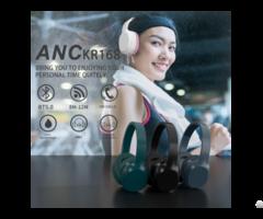 Anc Active Noise Canceling Bluetooth Headset Kr169 Bt Version Qcc 5 0