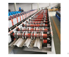 Yc 914 75 Steel Floor Deck Roll Forming Machine