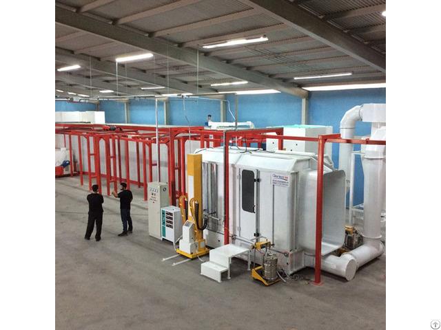 Automatic Semi Powder Coating Line