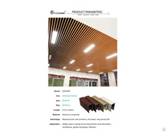 Coowin Wpc Recyclable Pvc Ceiling