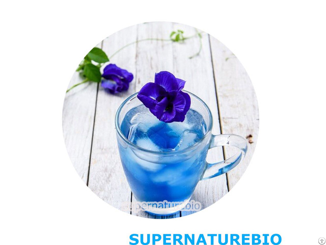 100 Percent Natural Butterfly Pea Flower Powder