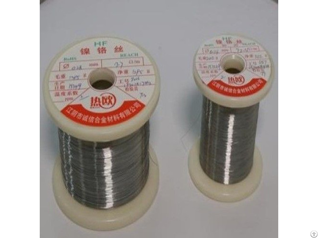 Nickel Chrome Alloy Cr20ni35 Resistance Wire