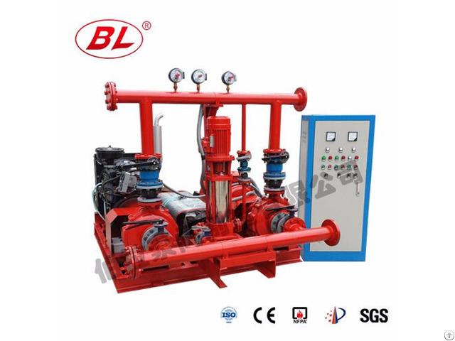 Fire Pump Set End Suction Type