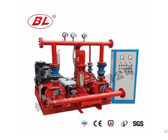 Multistage Type Diesel Fire Pump Set
