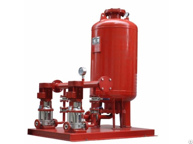 Electric Fire Pump Horizontal End Suction Type Xbd Isw