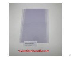 Transparent Pvc No Laminated Card