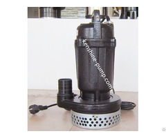 Wqd Small Type Submersible Sewage Pump With 220v Single Phase Motor