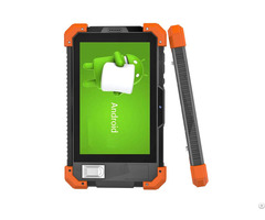 Cheap 7inch Android Rugged Tablets 4g Network Tab Dual Sim Cards With Barcode Scanner Uhf Rfid