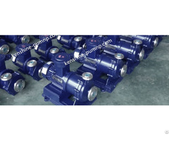 Cqb Stainless Steel No Leakage Magnetic Drive Pump