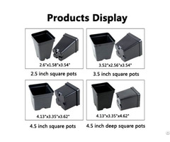 Cheap Square Nursery Pots Wholesale Supplier China