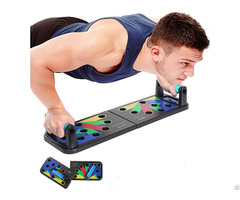 Push Up Muscle Training Board System For Home Fitness