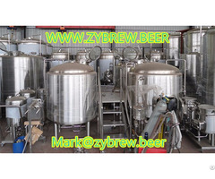 Gas Fired Brewhouse Two Vessel Brewery