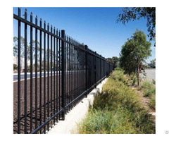 Ornamental Industrial Fence