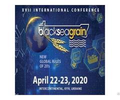 """17th International Conference """"black Sea Grain 2020"""""""