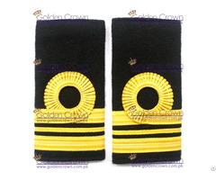 Navy Ranks Slide Gold Lace Lieutenant Commander