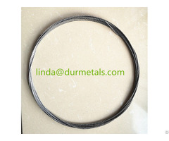 High Purity Twisted Tungsten Wire For Vacuum Metallization
