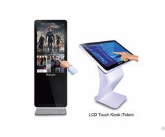 """Interactive Touch Screen Display Floor Standing Kiosk 32 43 49"""" 55"""