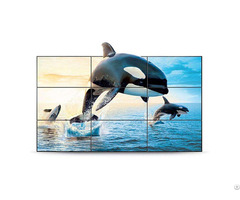 Lcd Video Wall Display With 1 7mm Samsung Panel
