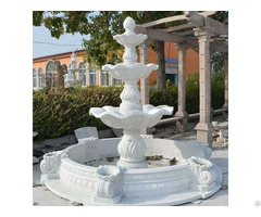 Marble Carved Fountain