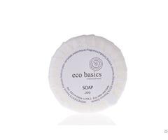 Customized Eco Basics 20 Grams Hotel Solid Soap