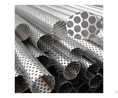 Perforated Steel Tube For Filters