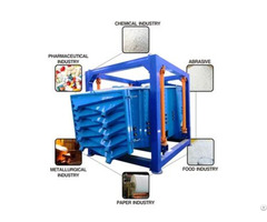Vibro Gyratory Sieve Quartz Silica Sand Screening Machine