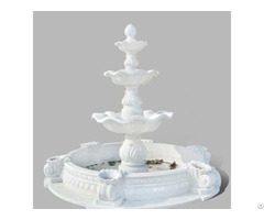 Handcrafted Marble Water Fountain