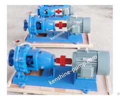 Ih Stainless Steel Chemical Centrifugal Horizontal Pump