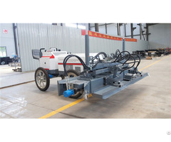 Ride On Concrete Laser Screed Machine